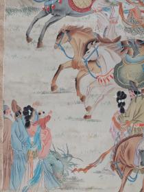 吴竹雲   工笔人物  尺寸    115/55   绢本