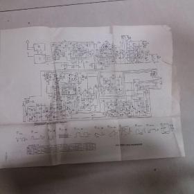 4D22U 4D14U 4D19型全频道黑白电视接收机电原理图、35D2黑白电视接收机电原理图