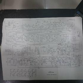 35D1-4黑白电视接收机电原理图