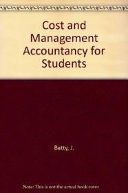 Cost and Management Accountancy for Students