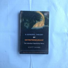 A General Theory of Entrepreneurship: The Individual-Opportunity Nexus (New Horizons in Entrepreneurship Series)精装