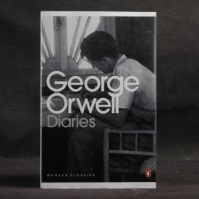 英文原版 企鵝現代經典 George Orwell: Diaries(奧威爾日記)