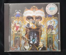 """二手原版CD唱片:Michael Jackson 《DANGEROUS》(一代天王:""""MJ""""迈克尔.杰克逊经典唱片)"""