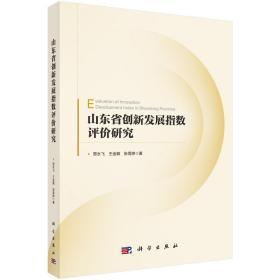 山东省创新发展指数评价研究