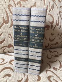 Complete short stories of Somerset Maugham -- 毛姆短篇全集 两卷本 布面精装品好