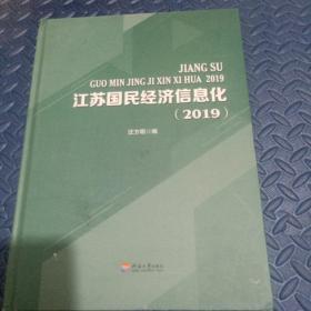 江苏国民经济信息化(2019)