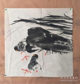 汪新林 14 现为国家一级美术师,享受政府特殊津贴专家、北京语言大学兼职教授、中国书画研究院副院长、中国现代水墨画研究会副会长(保真)