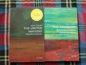 The United Nations+the american revolution【两本和售】