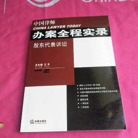 中国律师办案全程实录:股东代表诉讼