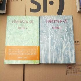 日曜日の白い云(精装日文原版小说 上下册)原田康子