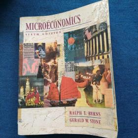 MICROECONOMICS SIXTH   EDITION 微观经济学   第六版