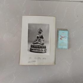 文物机构流出,老照片,清中期佛像