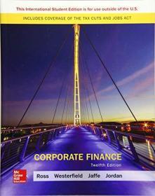 Corporate Finance   12 th