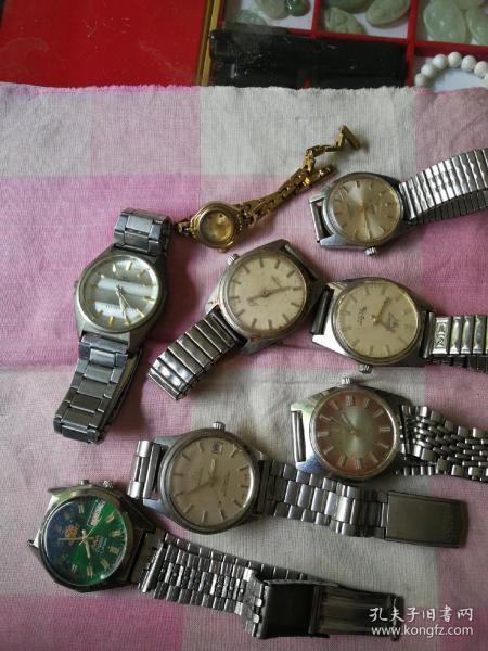 老旧手表八个