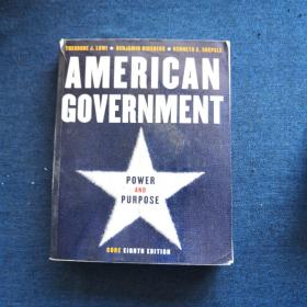 American Government Power and Purpose CORE EIGHTH EDITION美国政府权力与目的