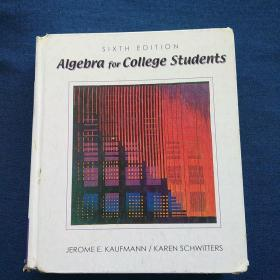 Algebra  for   College  Students SIXTH  EDITION 大学生代数   第六版