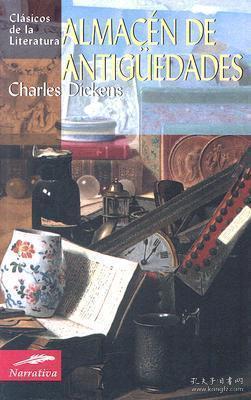 预订 Almacén de antigüedades老古玩店,狄更斯作品,西班牙文原版