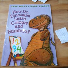 how do dinosaurs learn volours and numbers