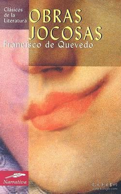 预订 Obras Jocosas弗朗西斯科·德·戈维多作品,西班牙文原版