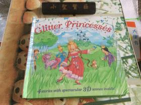 外文版 Glitter Princesses 闪闪发光的公主 立体书