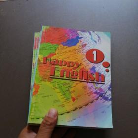 Happy English:快乐英语 1 2 3 4 5 6【6本合售】