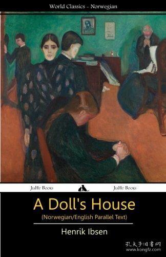 预订 A Doll's House玩偶之家,易卜生作品,英挪双语版