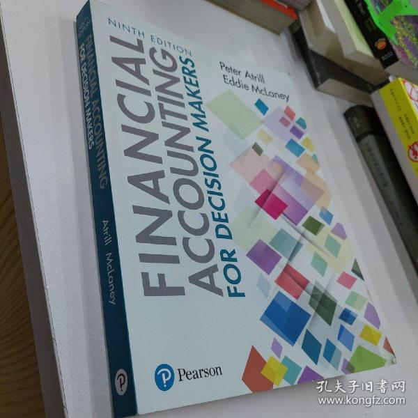 Financial Accounting for Decision Makers 9th edn 正版 决策者财务会计