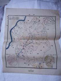 民国地图 ——石砫  45*38