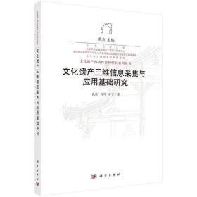 文化遗产三维信息采集与应用基础研究