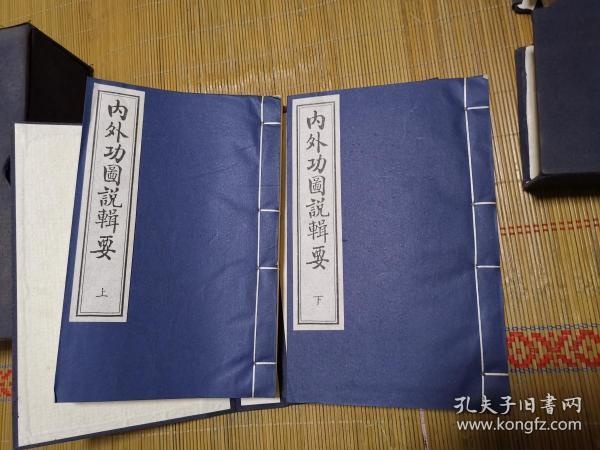 内外功图说辑要(一函两册)