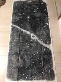 名碑拓片十八罗汉线刻图附达摩像 原石保真 原拓本 一套三张