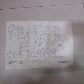 35D8-6黑白电视接收机电原理图、P-24型集成电路电视机原理图