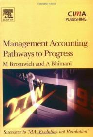 Management Accounting, Pathways to Progress