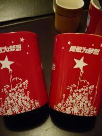 雀巢2012年限量版杯两只