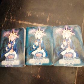 遊戏王(青眼之白龙位说)卡片3本共计300张