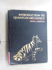 英文书;INTRODUCTION  TO  QUANTUM  MECHANICS  DAVID J . GRIFFITHS  共394页  精装 详见图片