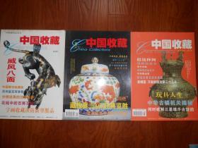 《中国收藏》2001年(全年12期存8册,含试刊号,创刊号,总第3,4,6,9,10,11期)