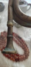 抗日冲锋号、铜质细腻、造型精美、胎质厚重、非常值得收藏。31-11CM