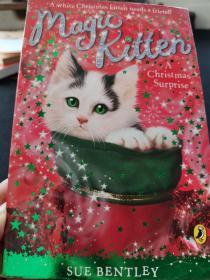 Magic Kitten a Christmas魔法小猫圣诞惊喜原版进口外文儿童绘本 -