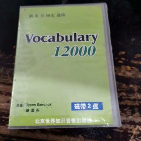 Vocabulary  12000(磁带2盘)