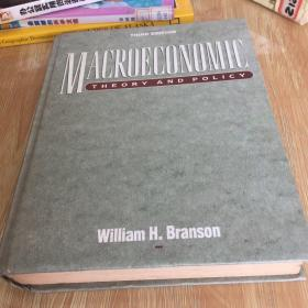 Macroeconomic Theory and Policy (3rd Edition)  精装 无笔迹