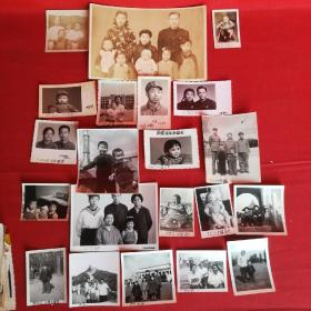 老照片:大户人家 第一张早于1936年旗袍 第二张1936年旗袍 第三张1941年婴儿车竹子制作 第四张至第二十一张从1968年至1980年