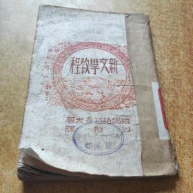 新文学教程(东北版)