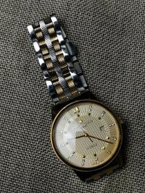 机械腕表 江诗丹顿腕表  男士日志系列 金色表盘 间金表链 全自动机械机芯 外观时尚 走时精准