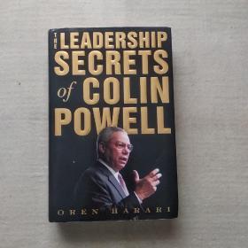 英文原版 国务卿鲍威尔的领导秘密 The Leadership Secrets of Colin Powell