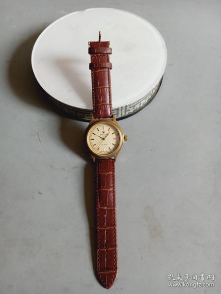 收藏少见的老机械自动上链手表