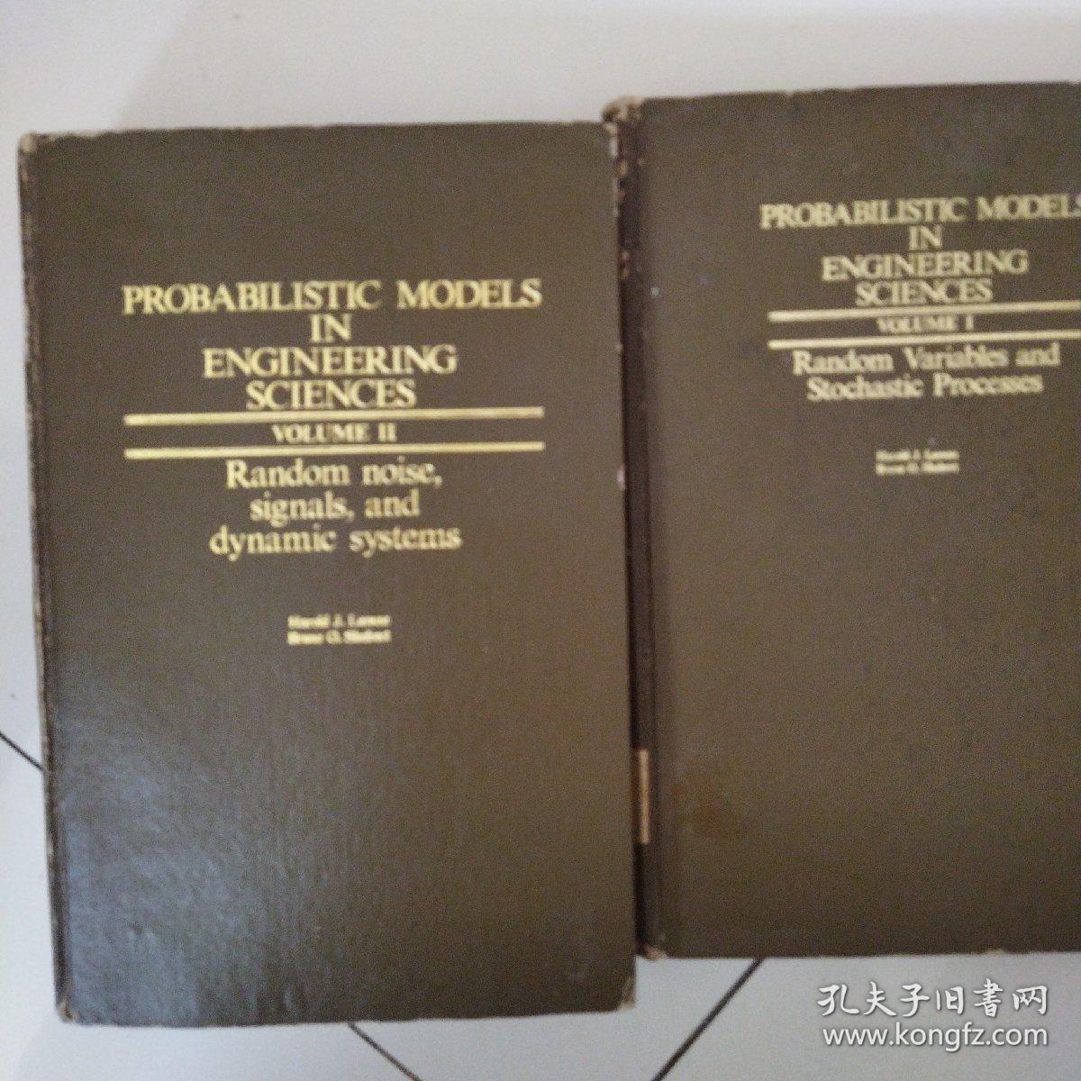 probabilistic models in engineering sciences volume 1 2