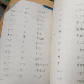 古代史地民族人物文物制度误读辑录