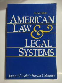 AMERICAN LAW & LEGAL SYSTEMS