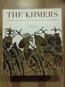 The Khmers History and Treasures of an Ancient Civilization 高棉人的历史与古代文明的瑰宝(12开 软精装,英文原版书)